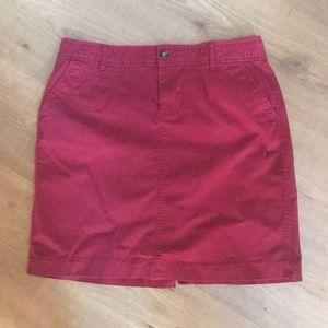 Old Navy Chino Skirt